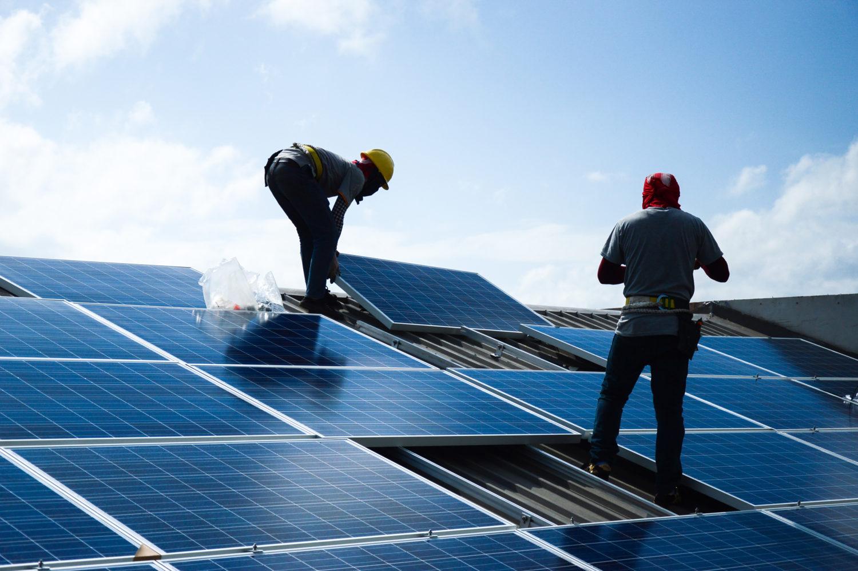 emplacement des panneaux photovoltaïques